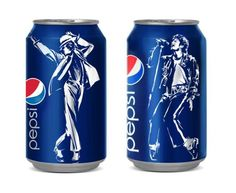 Pepsi released limited edition of NFC Chipped Michael Jackson Cans on their 25th Anniversary.   AxeeTech