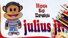How to Draw Julius Jr from Julius Jr. || Julius Jr. Drawing || Drawing f...