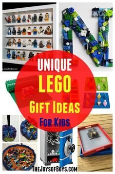 I LOVE this list!  My kids love LEGO and these unique LEGO gift ideas would be perfect for Christmas or birthdays.