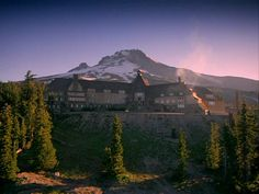 Timberline Lodge in Oregon.