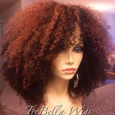 It's Kinky curly Yaki Week!!! TreBella full unit. Client wanted color added to give it some pop! Specs:  Afro kinky curly yaki from KCY @kinkycurlyyaki) two bundles of 14inch. Questions? Please visit the website for more info. #wig #wigs #wigmaker #wigmaster #trebella #trebellawigs #kinky #kinkyhair #kinkycurlyyaki #afro #extensions #protectivestyles ##protectivehairstyles #love #color #haircolor #Padgram
