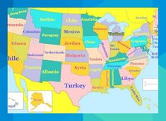 How Does the Education in Your State Compare to the Rest of the World? education level Find Out Which Country Your State Is Like When It Comes to Education Us State Map, Us Map, Other Countries, Countries Of The World, Sight Words, Big Kids, Create A Map, U.s. States, United States