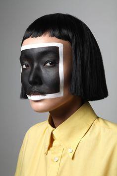 Сanvas on Behance Makeup Photography, Creative Photography, Portrait Photography, Fashion Photography, Distortion Photography, Western Photography, Makeup Canvas, High Fashion Makeup, Magical Makeup