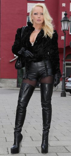 All leather