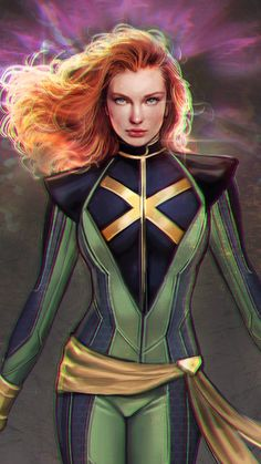 """My concept version of X-men in the Marvel Cinematographic universe, Jean Grey Marvel Comics, Marvel E Dc, Marvel Women, Marvel Comic Universe, Marvel Girls, Comics Girls, Captain Marvel, Logan Wolverine, Jean Grey Xmen"