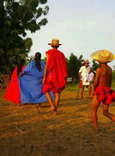 En una reunion Wayuu