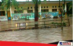 SD Puudongi Direndam Banjir Hingga Satu Meter
