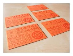 Caliber Creative Business Cards | Must be printed