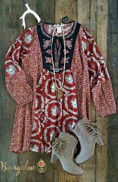 Turkana Tunic Dress – Bungalow 123