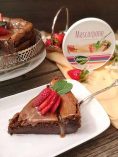 Cheesecake cu mascarpone si ciocolata - Bucataresele Vesele Caramel, Cheesecake, Deserts, Cooking, Inspiration, Food, Agriculture, Pies, Mascarpone