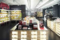 FURNITURE_Korres Natural Greek cosmetics store Prague 03 BEAUTY STORES! Korres Natural Greek cosmetics store, Prague