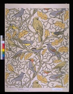 Wallpaper design | Voysey | V Search the Collections