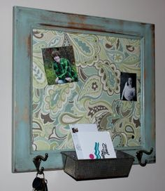 old cupboard door turned into a bulletin board… nifty! old cupboard door turned into a bulletin board… nifty! Cabinet Door Crafts, Old Cabinet Doors, Old Cabinets, Old Doors, Cabinet Drawers, Repurposed Furniture, Diy Furniture, Repurposed Doors, Furniture Makeover
