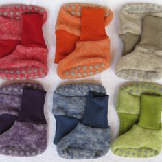 Cosilana merino wool fleece booties/slippers in 7 different colous, Eco Baby, Baby Slippers, Baby Time, Water Shoes, Baby Essentials, Couture, Little Ones, Merino Wool, Snug
