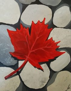 Paint Nite Stone Canada painting