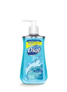 Spring Water Antibacterial Liquid Hand Soap with moisturizer