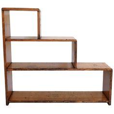 Classic Century Oak Three Step Bookcase And Display Shelves Step Bookcase, Step Shelves, Small Shelves, Vintage Bookcase, Modern Bookcase, Display Shelves, Display Case, Basement Shelving, Desk Globe