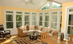 GroB 3 Season Room Ideas With Beautiful Pictures / Three Season Porches On A Budget  Ideas.patio Enclosure U0026 Roofline Decor For Sunroom.