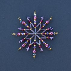 Hvězda z korálků malá