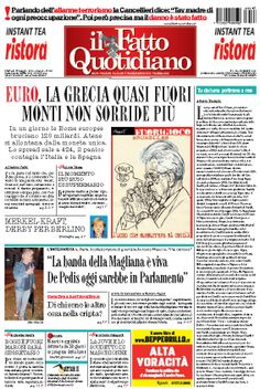 Il Fatto Quotidiano (15-05-12)