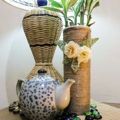 Here's a little plan:  Be creative and make something awesome WHILE you eat a snack!  Check out this handy recycled arts project:  How to make tall rustic planters from Pringles cans | Guidecentral