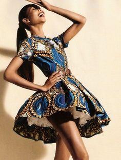 Beautiful African Print Dress just a littttle longerrrrr