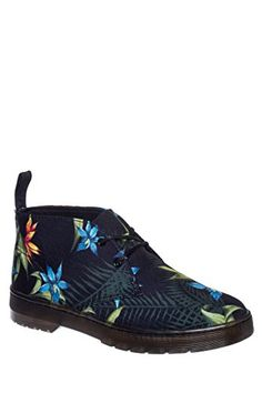 Dr Martens Daytona Hawaiian Floral Ankle Boot