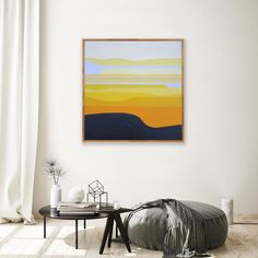 """Landscape series #7 .............................. Acrylic on canvas 30"""" x 30"""" Kara, Tapestry, Landscape, Canvas, Painting, Home Decor, Hanging Tapestry, Tela, Tapestries"""
