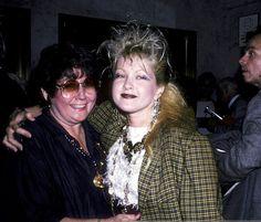 Cyndi and her mom