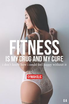 Fitness Is My Drug And My Cure Fitness Revolution -> http://www.gymaholic.co/ #fit #fitness #fitblr #fitspo #motivation #gym #gymaholic #workouts #nutrition #supplements #muscles #healthy