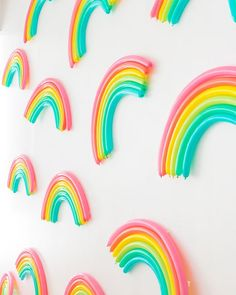 DIY Rainbow Pattern