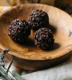The Earl Grey Chocolate Truffle made by Badminton Chocolate Co.