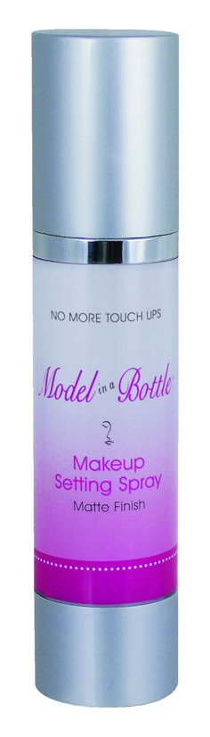 During holiday parties, the last thing we want is a makeup meltdown. This setting spray is a must for locking your look into place – plus, it'll give us back a little moisture that the cold weather has taken from us!  (Model in a Bottle Original Setting Spray, $18, Modelinabottle.com)   Read more: http://beautyhigh.com/december-beauty-must-haves/#ixzz3MGvWRTi3