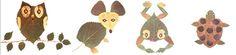 Lavoretti casalinghi con foglie - Età prescolare - Bambinopoli