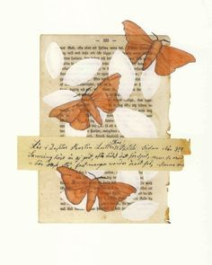 book page and stamps