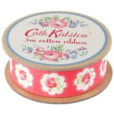 Our pretty Provence Rose ribbon is ideal for adding finishing touches to gifts or craft projects.