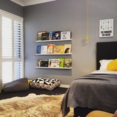 Another angle of this cute room. I wish I was a kid again! #ikea #readingnook #bedroom #interiordesign #sharemystylekidsroom