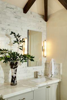 YOUNTVILLE WINE COUNTRY RETREAT - mediterranean - bathroom - san francisco - Joyce Hoshall Interiors love the tile