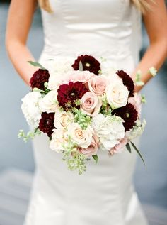 Bouquet rotondo rosso