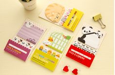 Cute Animal Stick Markers Sticky notes Post-it Bookmarks Filofax kikki.k Erin Condren scrapbook