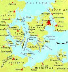 The Danish Straits and southwestern Baltic Sea