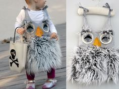 fuzzy owl costume. So adorable!