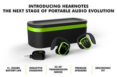 HearNotes | WireFree Earbuds