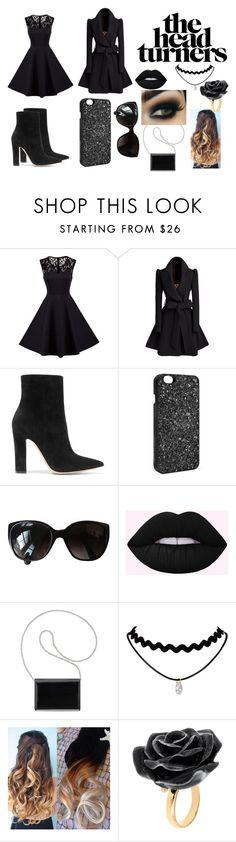 """The Head Turners"" by danielle-walker-2021 ❤ liked on Polyvore featuring Gianvito Rossi, Victoria's Secret, Chanel, Nine West and Nach Bijoux"