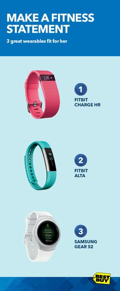 Activity trackers are more fashionable than ever. They can do amazing things like track steps, calories burned, distance, monitor your heart rate, track your sleep cycle and more. But with so many features to choose from, picking the right one can be a workout. Our online selector tool lets you compare devices and features to customize your workouts. Check out the Fitbit Charge HR, Fitbit Alta and Samsung Gear S2.