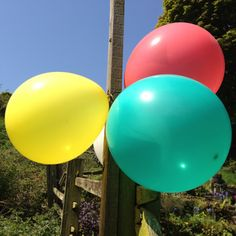 """The world's first fairly traded balloons made with exclusive FSC certfied. Box of 25 10"""" balloons in 8 differenr colours. Made from FSC-pure (IMO-COC-025582) Latex. 100% biodegradable."""