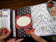 Shabby Chic The Journey (paperbag scrapbook album)