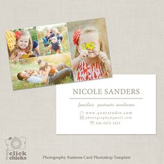 Photography business card template for photographers 004 c240 photography business card template for photographers 004 c240 instant download marketing ideas by eileen g photography pinterest photography reheart Image collections