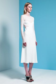 Best of resort 39 13 on pinterest resorts fashion show for Narciso rodriguez wedding dress collection