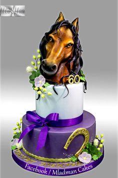 Horse Anniversary Cake